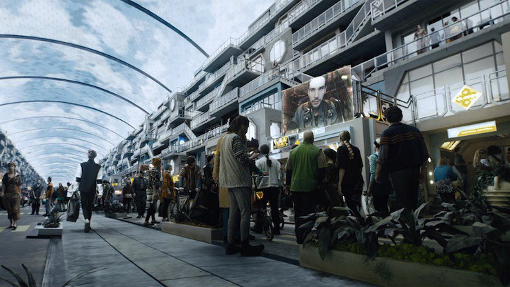 Is Ceres Station on 'The Expanse' on the verge of falling apart?