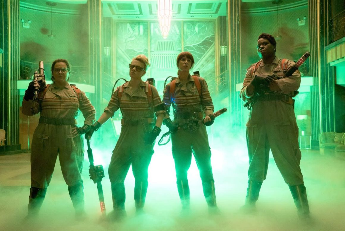 Ghostbusters women reboot