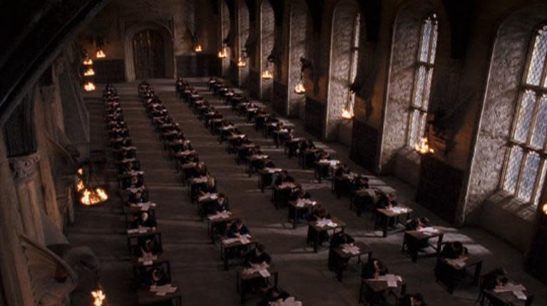 Hogwarts Examination room